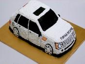 Bánh kem hình chiếc xe 5