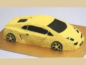 Bánh kem hình chiếc xe 6