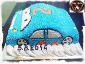 Bánh kem hình chiếc xe