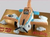 Bánh kem máy bay cánh quạt
