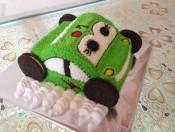 Bánh kem hình chiếc xe 3